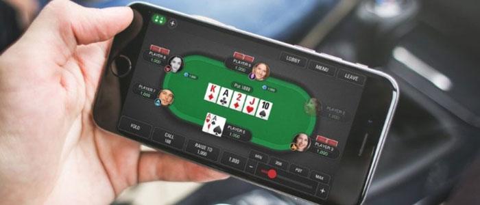Клиент Покерок на телефоне