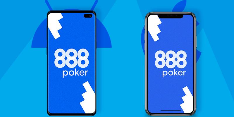 888 покер на мобильном